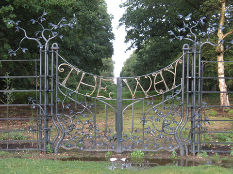 Annual Awards 2012 St Paul's Tercentenary Gates, 'The Way', in Richmond Park