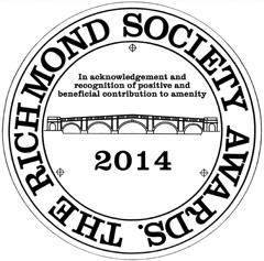 Richmond Society Award Plaque