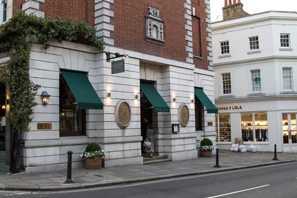 Annual Awards 2017: The Ivy Café, Richmond.