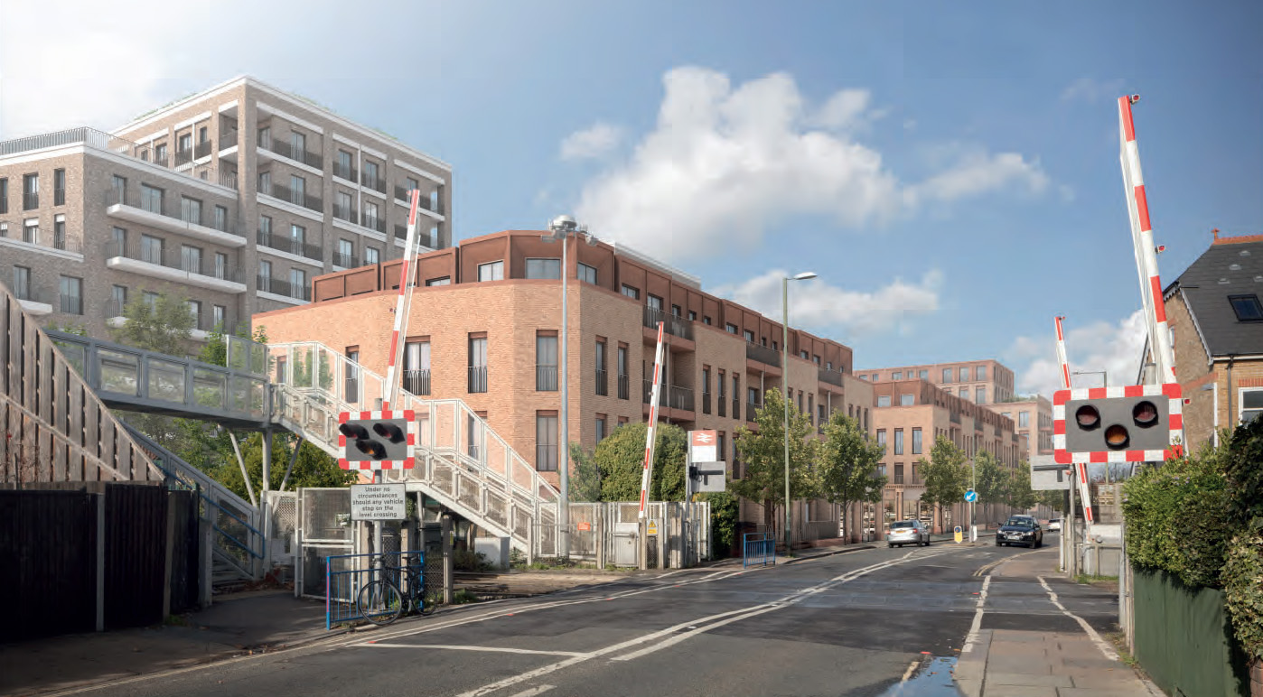 Photo mockup of Manor Road Development