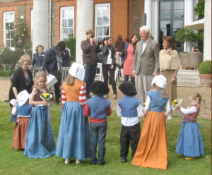 Photo of children at Richmond Society Summer Party
